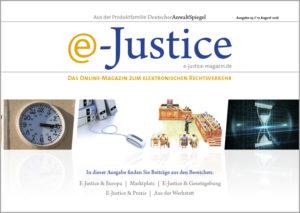 e-Justice, Ausgabe 2 // 25. Mai 2016